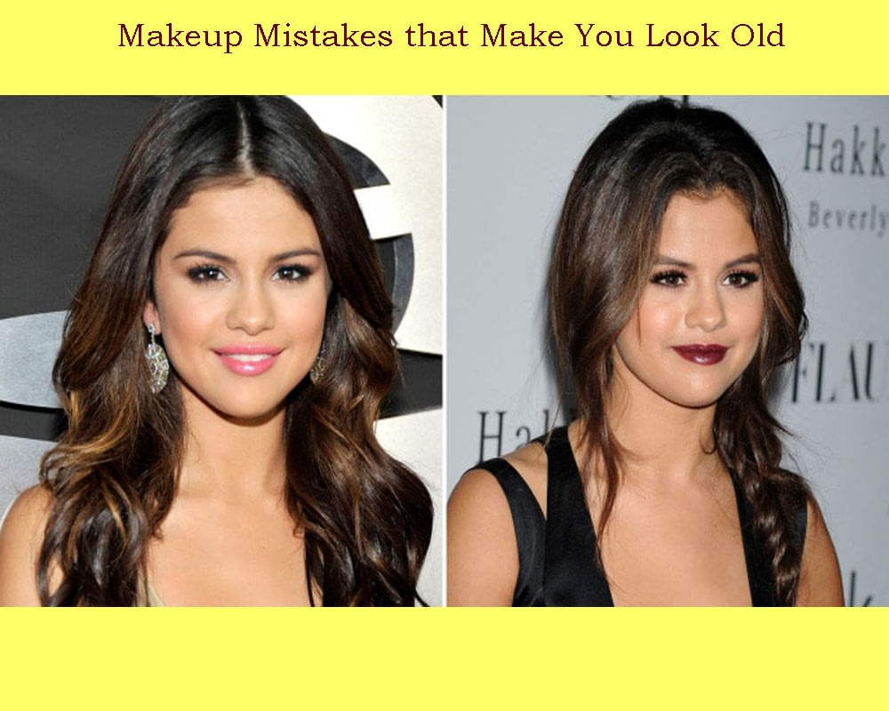 Makeup Mistakes that Make You Look Old
